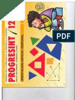 Progresint-12- Orientacion Espacio Temporal Primaria.pdf