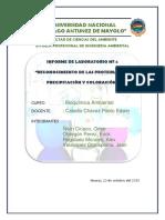 Informe de Bioquimica - III