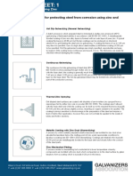 HDG Datasheet 1- Corrosion Protection Using Zinc