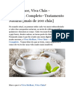 Viva Melhor, Viva Chás - Programa Completo–Tratamento Natural [Mais de 200 Chás]