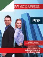 Adm de Empresas - Mod 01 - Vol 03