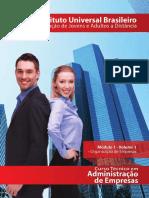 Adm de Empresas - Mod 01 - Vol 01
