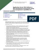 IBM WebSphere Application Server V8.5_Announcement Letter_Apr 2012_ENUS212-109