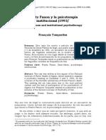 Dialnet-FrantzFanonYLaPsicoterapiaInstitucional1991-
