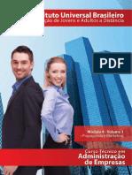 Adm de Empresas - Mod 04 - Vol 01