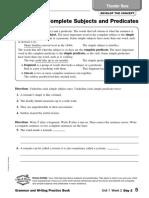 Grammar Practice Pg 5-8
