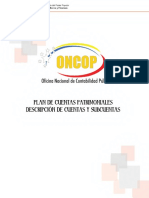 Plan de Cuentas Oncop