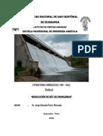 Ejercicio de hidraulica