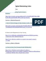 Digital Marketing links.docx