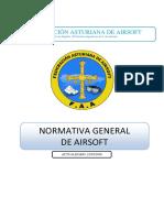 Reglamento Airsoft FAA