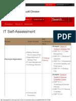 IT self assessment
