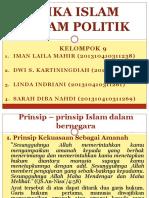 Etika Politik Dalam Islam