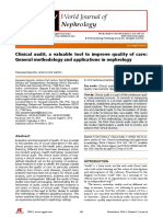 Clinical Audit a Valuable Tool to Improve Quality of Care
