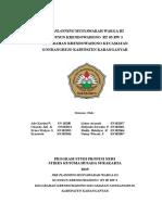 PRE PLANNING MW III.doc