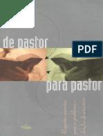 De Pastor Para Pastor