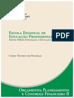 Financas Orcamento Planejamento e Controle Financeiro II