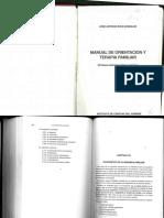 Manual de Terapia Familiar Antonio Ríos