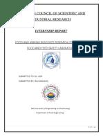 Internship Report Pcsir