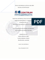 PLAN ESTRATÉGICO DEL SISTEMA DE PERSONAL   DE LA MARINA DE GUERRA DEL PERU