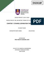 Chapter 7.4 Distillation Column 1