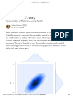 Probability Theory - Towards Data Science