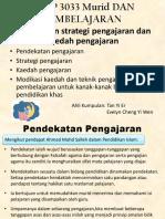 Pendekatan, strategi pengajaran dan kaedah pengajaran.pptx
