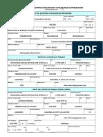 Solicitud de Registro de Delegados de Prevencion