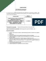 Formulacion de Perfil de Inversion Pública Del Proyecto