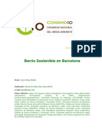 barrio sustentable barcelona