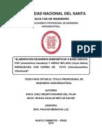 ELABORACIÓN DE BARRAS ENERGÉTICAS