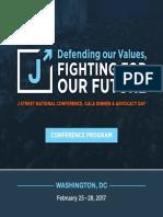 Conference-Program J Street 2017