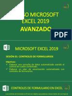 Curso Microsoft Excel 2019 - Avanzado