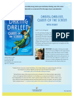 Daring Darleen, Queen of the Screen by Anne Nesbet Press Release