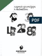 Libro Construyendo Aprendizajes en Matematicas