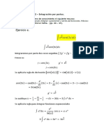 Segundo Ejercicio e Calculo Integral
