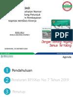 Materi Sosialisasi PerBPJS 7 Tahun 2019 Ttg KBK Baru