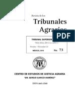Tribunales agrarios