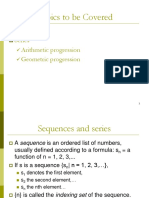 Lecture 7b - Sequence Series [22 Slides]