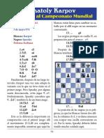 17- Karpov vs. Spassky
