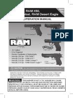Manual pistolas Ram