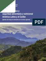 Cambio Climático y Seguridad Alimentaria en América Latina y el Caribe