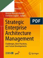Ahlemann Et Al. 2012 Strategic Enterprise Architecture Management Ch1 2 4-7