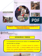 Pobreza e IDH en Perú