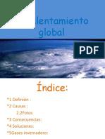 EL CALENTAMIENTO GLOBAL Lucía+Godoy+y+Fran+Pulido