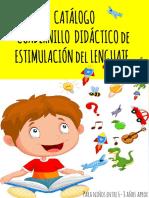 Catálogo Cuadernillo de Estimulación Lenguaje Para Niños Escolares (Desde 6-8 Años) (1)