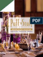 Wedding Buffet 2019
