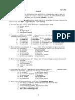 exam 4 2003 F