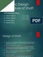Design of Shaft