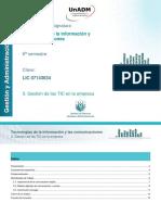 UNIDAD 3. Gestion de Las TIC en La Empresa_2019_1_b2