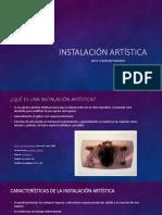 INSTALACION ARTÍSTICA.pptx